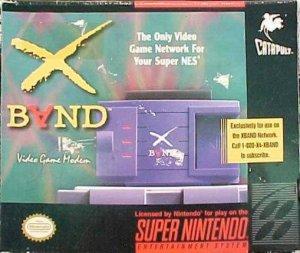 X-Band e X-Band Modem per Super Nintendo Entertainment System