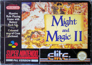 Might and Magic II: Gates to Another World per Super Nintendo Entertainment System