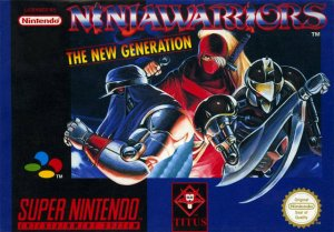 The Ninja Warriors Again per Super Nintendo Entertainment System