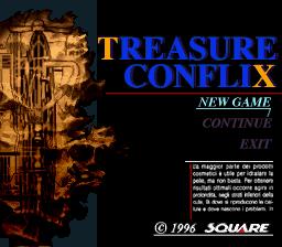 BS Treasure Conflix per Super Nintendo Entertainment System