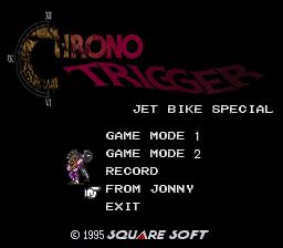 BS Chrono Trigger: Jet Bike Special per Super Nintendo Entertainment System