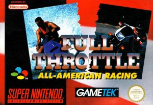 Full Throttle All-American Racing per Super Nintendo Entertainment System