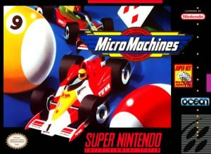 MicroMachines per Super Nintendo Entertainment System