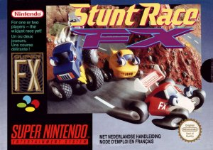 Stunt Race FX per Super Nintendo Entertainment System