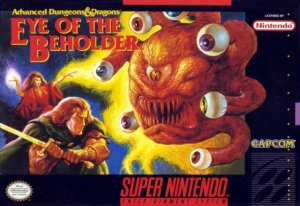 Advanced Dungeons & Dragons: Eye of the Beholder per Super Nintendo Entertainment System