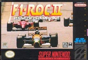 F1 ROC II: Race of Champions per Super Nintendo Entertainment System
