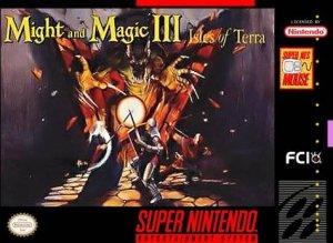 Might and Magic III: Isles of Terra per Super Nintendo Entertainment System