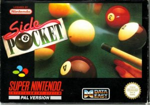 Side Pocket per Super Nintendo Entertainment System
