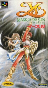 Ys IV: Mask of the Sun per Super Nintendo Entertainment System
