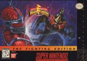 Mighty Morphin Power Rangers: The Fighting Edition per Super Nintendo Entertainment System