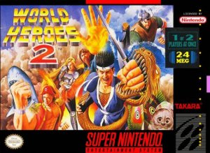 World Heroes 2 per Super Nintendo Entertainment System