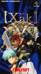 Xak: The Art of Visual Stage per Super Nintendo Entertainment System