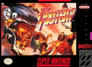 Fighters History per Super Nintendo Entertainment System