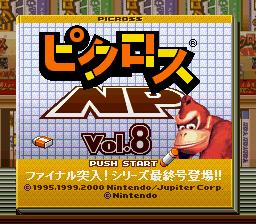 Picross NP Vol. 8 per Super Nintendo Entertainment System