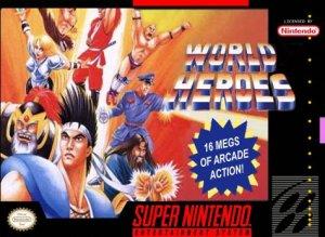 World Heroes per Super Nintendo Entertainment System