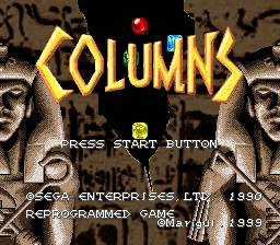 Columns per Super Nintendo Entertainment System