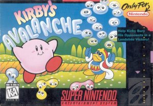 Kirby's Avalanche per Super Nintendo Entertainment System