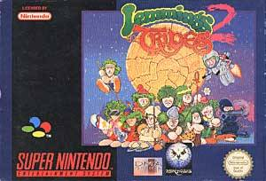 Lemmings 2: The Tribes per Super Nintendo Entertainment System