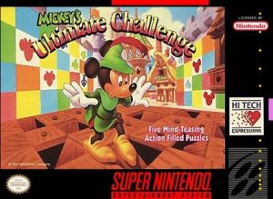 Mickey's Ultimate Challenge per Super Nintendo Entertainment System