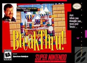 BreakThru! per Super Nintendo Entertainment System