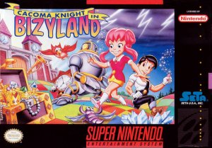 Cacoma Knight in Bizyland per Super Nintendo Entertainment System