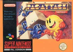 Pac-Attack per Super Nintendo Entertainment System
