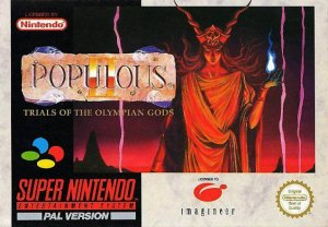 Populous II per Super Nintendo Entertainment System