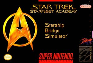 Star Trek: Starfleet Academy Starship Bridge Simulator per Super Nintendo Entertainment System