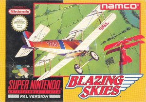 Blazing Skies per Super Nintendo Entertainment System