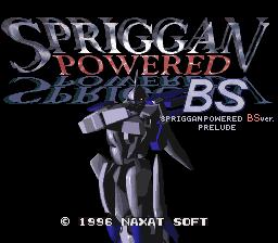 BS Spriggan Powered per Super Nintendo Entertainment System