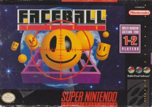 Faceball 2000 per Super Nintendo Entertainment System