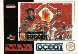Manchester United Championship Soccer per Super Nintendo Entertainment System