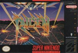 Raiden per Super Nintendo Entertainment System