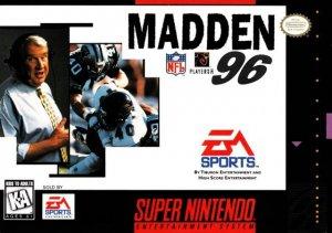 Madden NFL 96 per Super Nintendo Entertainment System