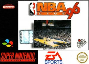 NBA Live '96 per Super Nintendo Entertainment System