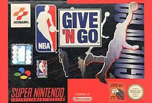 NBA Give 'N Go per Super Nintendo Entertainment System