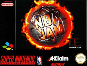 NBA Jam: Tournament Edition per Super Nintendo Entertainment System