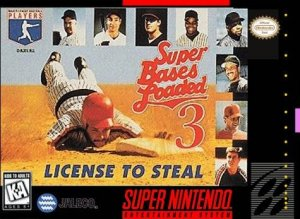 Super Bases Loaded 3: License to Steal per Super Nintendo Entertainment System