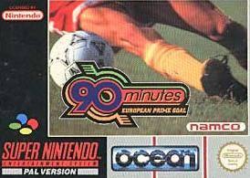 90 Minutes - European Prime Goal per Super Nintendo Entertainment System