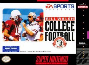Bill Walsh College Football per Super Nintendo Entertainment System