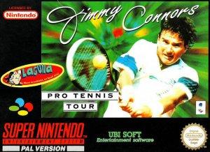 Jimmy Connors Pro Tennis Tour per Super Nintendo Entertainment System