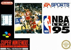 NBA Live '95 per Super Nintendo Entertainment System