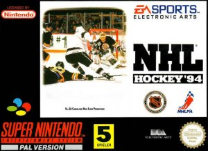 NHL '94 per Super Nintendo Entertainment System