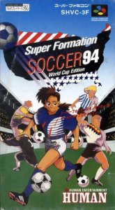 Super Formation Soccer '94 per Super Nintendo Entertainment System