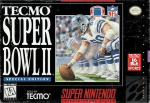 Tecmo Super Bowl II: Special Edition per Super Nintendo Entertainment System