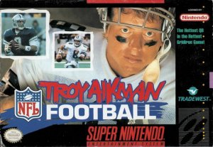 Troy Aikman NFL Football per Super Nintendo Entertainment System