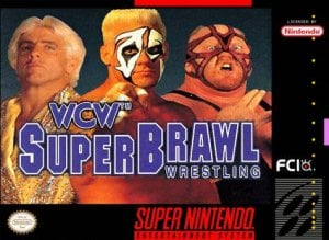 WCW Super Brawl Wrestling per Super Nintendo Entertainment System