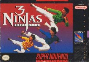 3 Ninjas Kick Back per Super Nintendo Entertainment System