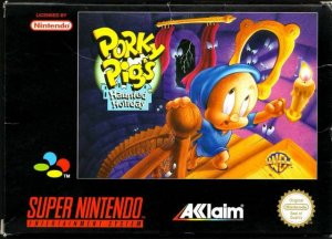 Porky Pig's Haunted Holiday per Super Nintendo Entertainment System