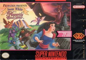 Snow White in Happily Ever After per Super Nintendo Entertainment System